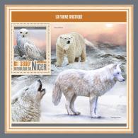 NIGER 2017 MNH** Arctic Fauna Arktische Tierwelt Faune Arctique S/S - OFFICIAL ISSUE - DH1749 - Arctische Fauna