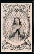 DOODSPRENTJE - H.PRENTJE - Ste.MARIE - JOANNES VAN HECKE - ZWIJNAARDE - MALDEGEM 1870 - 90 JAAR OUD _ 2 SCANS - Todesanzeige