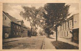 BAD CARLSRUHE In Schlesien - Schlossallée, Mit Hotel Schwarzer Adler. - Schlesien