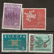 Luxembourg Various Europa Obl - Stamps