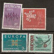 Luxembourg Various Europa Obl - Postzegels
