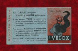 Papel Secante (VELOX)  Año 1940 - Sin Clasificación