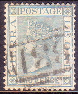 SIERRA LEONE 1884 SG #30 2d Used Wmk Crown CA Tiny Scratches At Right - Sierra Leone (...-1960)