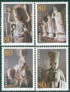 CHINA 2002-13 Dazu Stone Carvings Place Heritage Stamps - 1949 - ... Volksrepublik