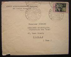 Conakry (Guinée) 1958 Premier Jour Comité Interprofessionnel Bananier De L'union Française, Voir Photos - Covers & Documents