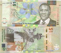 Bahamas 1 Dollar 2017. UNC - Bahamas