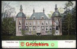 OEGSTGEEST Kasteel Endegeest 1906 Martin Langebalkstempel Met Arcering Leiden 1 - Other