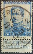 Belgium 1912 King Albert I Pellens - 1912 Pellens