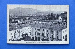 Cartolina Castellamonte - Scuole Comunali E Panorama - 1941 - Italia