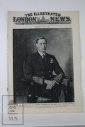 WWII The Illustrated London News, May 5, 1945 - The King George VI By Oswald Birley, Mussolini, The Fall Of Bremen - Histoire