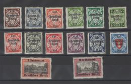 Dantzig - Timb.Allemagne Surch. ._  Série  N °258 /271 ( 1939 ) - Danzig