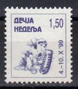 Yugoslavia,Children's Week 1999.,MNH - 1992-2003 République Fédérale De Yougoslavie