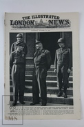 WWII The Illustrated London News, October 28, 1944 - King George VI And General Eisenhower, Polish Patriots Surrender - Histoire