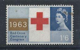 Grande Bretagne N°380 Obl (FU) 1963 - Croix Rouge - 1952-.... (Elizabeth II)