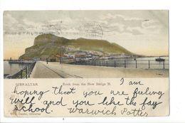 18469 - Gibraltar Rock From The New Bridge N. - Gibraltar