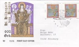 Germany FDC 1998 Hildegard Von Bingen   (DD13-1) - FDC: Buste
