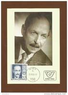 Österreich  1982 , 100. Geb. Von Emmerich Kalman - Maximum Card - 20.05.1982 - Musik