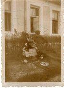 Small Photo.Macedonia .Nazi Grave.Nazi-Grab - Guerre, Militaire