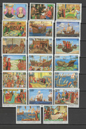 Cuba 1992 Christopher Columbus, Ships, 500th Anniversary Of Discovery Of America Set Of 20 MNH - Christoffel Columbus