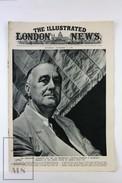 WWII The Illustrated London News, November 11, 1944 - Franklin D. Roosevelt, Battlegrounds Of Holland - Histoire