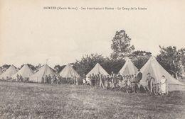 CPA - Hortes - Les Américains à Hortes - Le Camp De La Scierie - France