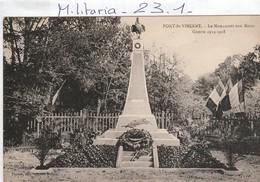 Militaria : Monument Aux Morts  ( PONT-ST-VINCENT ) - Monumenti Ai Caduti