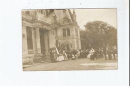 GUERRE 1914 1918 CARTE PHOTO HOPITAL RUSSE  BLESSES MILITAIRES FRANCAIS PATRONAGE DE S M L'IMPERATRICE MARIE FEODOROWNA - Weltkrieg 1914-18