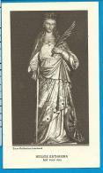 Holycard    Belgica Sacra    St.  Katharina    Lombeek     Litanie - Devotion Images