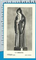 Holycard    Belgica Sacra    St.  Benedictus - Devotieprenten