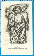 Holycard    Belgica Sacra    St.  Lucas - Devotion Images