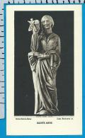Holycard    Belgica Sacra    St.  Anne    Uccle - Devotion Images