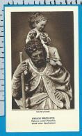 Holycard    Belgica Sacra    St.   Kristoffel   Scheldewindeke - Devotieprenten