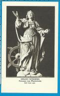Holycard    Belgica Sacra    St.   Chatharina    Wachtebeke - Devotieprenten