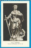Holycard    Belgica Sacra    St.   Chatharina    Ressegem   Litanie - Devotieprenten