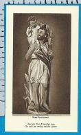Holycard    Belgica Sacra    St.   Kristoffel    Henis - Devotieprenten