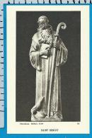 Holycard    Belgica Sacra    St.  Benoit    Maredsous - Devotieprenten