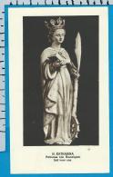 Holycard    Belgica Sacra    St.  Kataharina    Humelgem - Devotieprenten