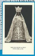 Holycard    Belgica Sacra    O.L.V.   V.    Halle - Devotion Images