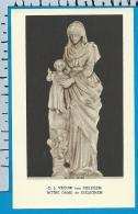 Holycard    Belgica Sacra    O.L.V.   V.   Dielegem - Devotion Images
