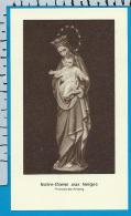 Holycard    Belgica Sacra    N.D.   Neiges   Antoing - Devotion Images