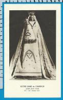 Holycard    Belgica Sacra    N.D.   Cambron - Devotieprenten