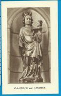 Holycard    Belgica Sacra    O.L.V.   V.  Lombeek   Litanie - Devotieprenten