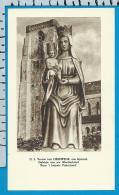 Holycard    Belgica Sacra    O.L.V.   V.  Lissewege - Devotion Images