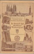 1935 Tournai Tournaisis Chateau Ath Beloeil Bonsecours Antoing Chievres Vaulx - Dépliants Touristiques