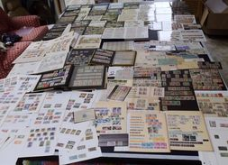 Superb France Colonies Lot (1000s). Pre/post Indep. Nhm/vfu, Sheets,airs,covers/cards 19th-20thC. Huge Lot! - Collections