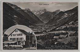 Schwändi - Aussicht Vom Hotel-Pension Tödiblick - Photo: Schönwetter-Elmer - GL Glarus