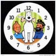 Cadran De Remplacement Pour Réveil Animé Bayard Tintin Et Milou - Alarm Clocks