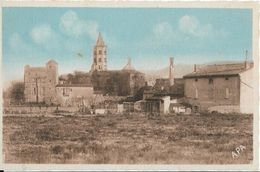 CPA -  LABRUGUIERE - L église Et Le Château - Labruguière