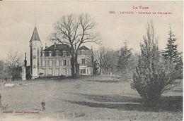 CPA -  LAVAUR - Château De Belcastel - Lavaur