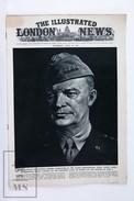 WWII The Illustrated London News, June 10, 1944 - General Dwight Eisenhower, General Sir Bernard Montgomery - Histoire